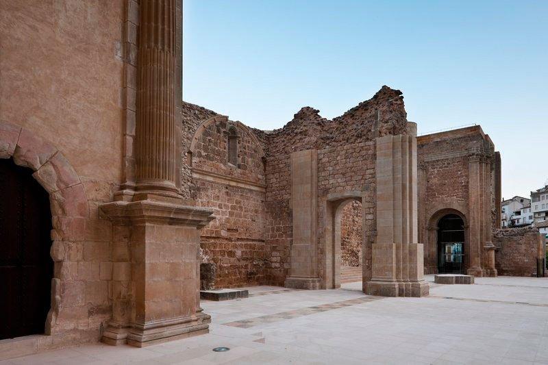 Ruinas de la Iglesia de Santa Maria de Cazorla